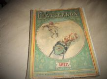 ANTIQUE COLLECTABLE ANNUAL CHATTERBOX 1917 WELLS GARDNER DIXON ILLUSTRATED
